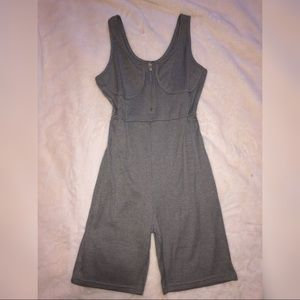 Gray Fitted Romper🐘